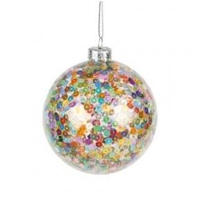 Stiklinis kalėdinis žaisliukas